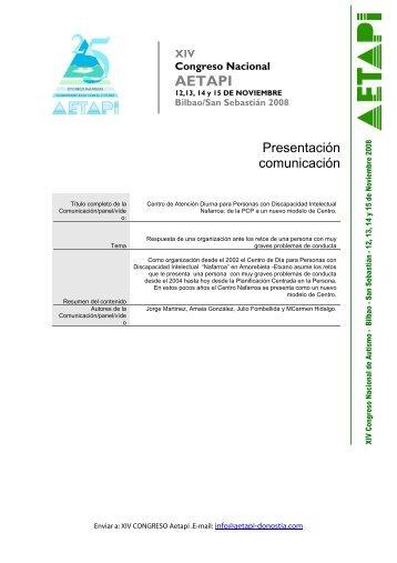 XIV Congreso Nacional AETAPI