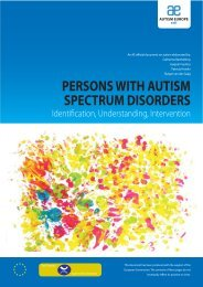 persons with autism spectrum disorders - Aetapi
