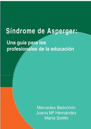 Síndrome de Asperger: Una guía para los profesionales - Aetapi