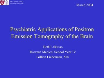 Title of Presentation - Lieberman's eRadiology Learning Sites