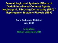Dermatologic and Systemic Effects of Gadolinium-Based Contrast ...