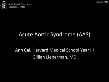 Acute aortic syndrome