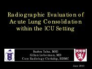 An Atlas of Acute Lung Consolidation Among the Critically Ill