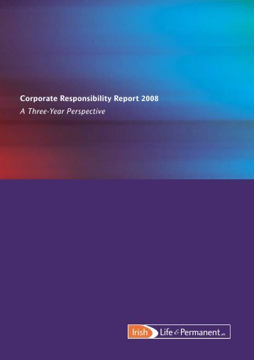 Corporate Responsibility Report 2008 A Three-Year ... - Investis