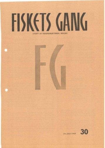 Fiskets Gang, nr 30, 1969