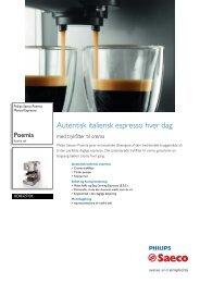 HD8327/01 Philips Manual Espresso