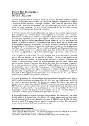 L'Insee dans la campagne - Hussonet