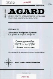 Aerospace Navigation Systems - NATO Research & Technology ...