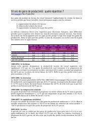 Allègements de cotisations sociales et emploi - Hussonet