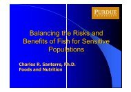 Balancing the Risks and Benefits of Fish for - Cooperative Extension