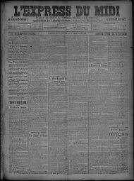 16 Février 1908 - Bibliothèque de Toulouse