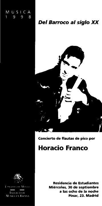 Horacio Franco