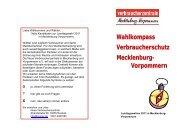 als Download - Verbraucherzentrale Mecklenburg-Vorpommern e. V.