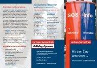 Mit dem Zug unterwegs … - Verbraucherzentrale Mecklenburg ...
