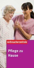Pflege zu Hause - Verbraucherzentrale Mecklenburg-Vorpommern e ...