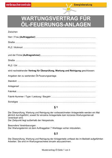 Charmant Website Wartungsvertrag Vorlage Bilder ...