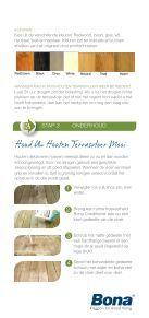 Houten terrasvloeren - Bona - Page 4