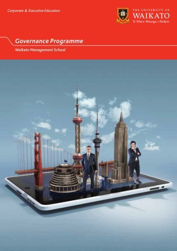 Governance Programme - Waikato Management School - The ...
