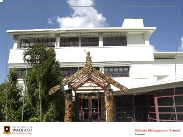 Wealth Creation PowerPoint - Waikato Management School - The ...