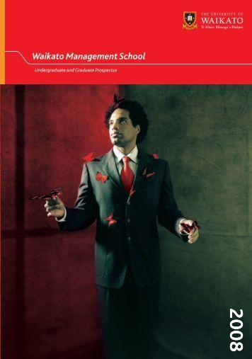 2008 Undergraduate & Graduate Prospectus - PDF - Waikato ...