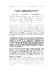 QUANTITATIVE ANALYSIS OF BOVINE ... - Ainfo - Embrapa