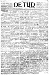 De Tijd : godsdienstig-staatkundig dagblad