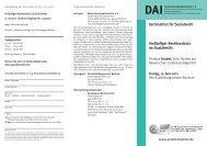 Vorläufiger Rechtsschutz im Sozialrecht - Deutsches Anwaltsinstitut ev