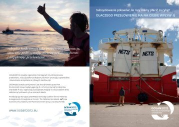 DLACZEGO PRZEŁOWIENIE MA NA CIEBIE WPŁYW ... - Ocean2012