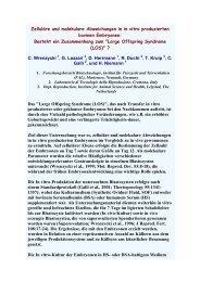Zelluläre und molekulare Abweichungen in in vitro ... - AET-d