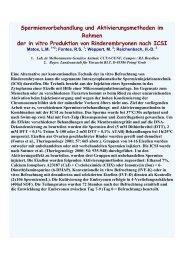 Spermienvorbehandlung und Aktivierungsmethoden im ... - AET-d