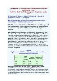 und anschließende in vitro Produktion (IVP) von ... - AET-d