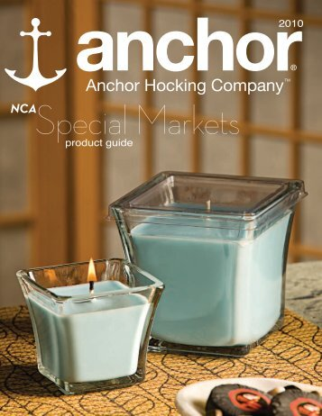 product guide 2010 - Anchor Hocking