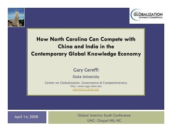 Southern Economic Development in a Global Context Apr 2008