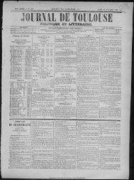 26 octobre 1865 - Bibliothèque de Toulouse