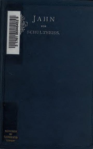 Friedrich Ludwig Jahn, sein Leben und seine Bedeutung