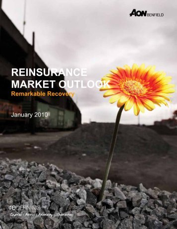 Reinsurance Market Outlook - Aon Benfield - Reinsurance