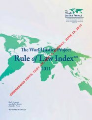 Ruleof Law Index™