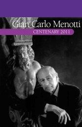 Gian Carlo Menotti - G. Schirmer, Inc.