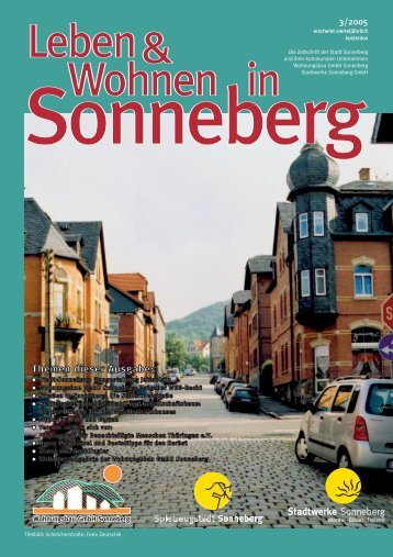 Ausgabe 3/05 - Sonneberg