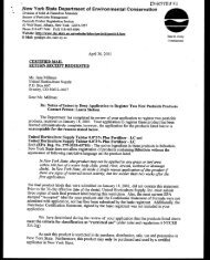 Bifenthrin - Notice of Intent to Deny Application to Register (Talstar)