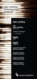 Light_Global_brochure (PDF) - Light+Building - Messe Frankfurt