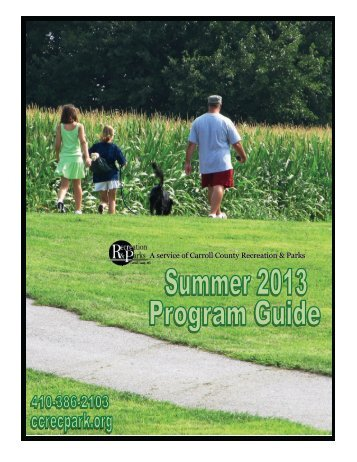 Full Program Guide - Carroll County Government