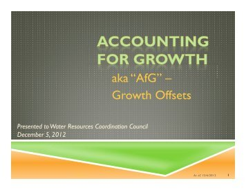 "aka ""AfG"" – Growth Offsets - Carroll County Government"