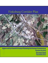 Finksburg Corridor Plan - Carroll County Government