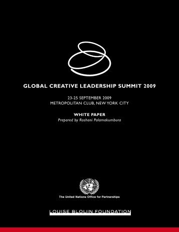 2009 Summit White Paper