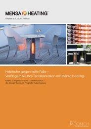 Heiztische - Apel Bauelemente GmbH
