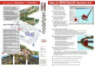 Neu in WINTRACK Version 6.0 - Modellplan