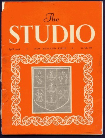 Studio New Zealand Edition April 1948 - Christchurch City Libraries