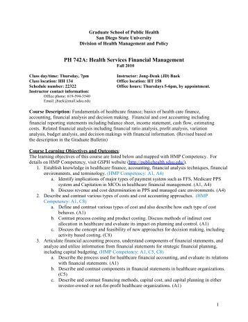 public health sdsu