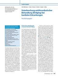 Download als PDF - Leitlinien - Deutsche Gesellschaft für Kardiologie